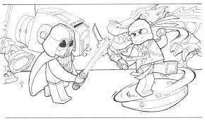 Free Coloring Pages Of Ninjago 5