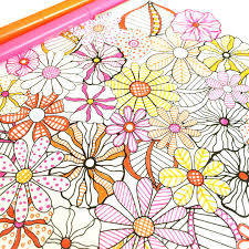 Flower Designs Coloring Book Patterns Printables To Color Printable Full Size