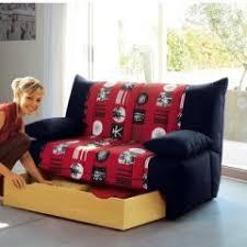 canapé chambre ado canapé bz pour chambre d ado à glisser sous une mezzanine ou
