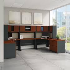 Bush Cabot L Shaped Computer Desk by Workspace Bush Furniture Corner Desk Reversible Corner Desk