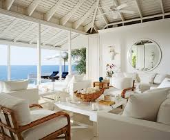 Ralph Laurens Beach Living Room In Round Hill Jamaica