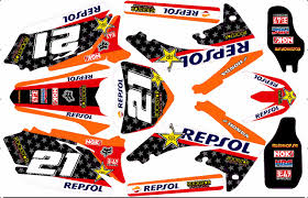 kit deco crf 250 kit déco semi perso honda crf 250 450 2005 13 rd2shop fr