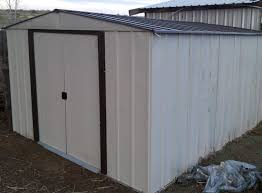 Wood Storage Sheds 10 X 20 by Np101267 10 U0027x12 U0027 Arrow Storage Shed Assembly L2survive With