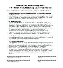 Elegant Employee Policy Handbook Template Or Manual Free Templates Rules Canada Medium Small Company