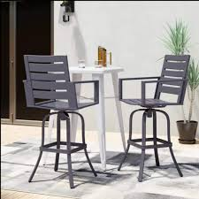 Amazon.com: LSI Outdoor Aluminum Bar Stool | High Patio Dining Chair ... Fascating Table Argos Repel Tables Corner St Design Standard Charthouse Counter Height Ding And 6 Stools Gray Value Bar Sets Canada Small Black Square Dinette Round Tommy Bahama Outdoor Living Kingstown Sedona 3 Piece Pub Set 25 Best Bar Stool Patio Set 59 Beautiful Gallery Ipirations For Patio Hire Chairs Target Highboy Space Office Room Chair Darlee Mountain View Cast Alinum Sling High Fniture And In Orland Park Chicago Il Darvin