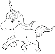 Unicorn Emoji Coloring Pages Page Rainbow Picture To Color Perfect Unico