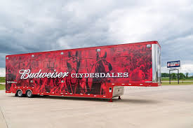 Budweiser Clydesdale Trailers | Featherlite Blog Budweiser Truck Stock Images 40 Photos Ubers Selfdriving Startup Otto Makes Its First Delivery Budweiser Truck And Trailer Pack V20 Fs15 Farming Simulator Truck New York City Usa Photo Royalty Free This Is For Semi Trucks And Ottos Success Vehicle Wrap Gallery Examples Hauls Across Colorado In Selfdriving Hauls Across With Just Delivered 500 Beers Now Brews Its Us Beer Using 100 Renewable Energy Clyddales Boarding The Ss Badger 1