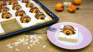 bienenkuchen saftiger kuchen mit aprikosenbienen bayern 1