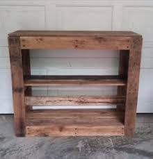 Salvaged Pallet Entertainment Center