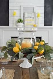 Summer Dining Table Centerpiece Ideas
