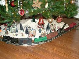 Amazing Idea Train Christmas Tree Ornaments Decorations Skirt Topper Lights Base Ideas
