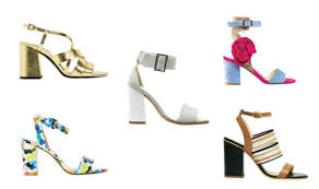 Block Heel Shoes Fashion Summer UploadExpress Sian ODonnell
