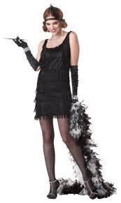 California Costumes Womens Fashion Flapper CostumeBlackMedium