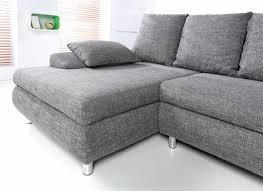 canapé en tissu gris canapé tissu angle urbantrott com