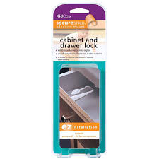 Childproof Cabinet Locks No Screws by Kidco Adhesive Mount Cabinet And Drawer Lock Walmart Com
