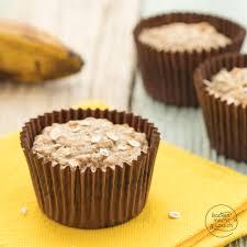 vegane bananen hafer muffins