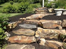 Natural Stone Garden Steps Ideas With Iron Garden Lighting And ... Landscape Steps On A Hill Silver Creek Random Stone Steps Exterior Terrace Designs With Backyard Patio Ideas And Pavers Deck To Patio Transition Pictures Muldirectional Mahogony Paver Stairs With Landing Google Search Porch Backyards Chic Design How Lay Brick Paver Howtos Diy Front Good Looking Home Decorations Of Amazing Garden Youtube Raised Down Second Space Two Level Beautiful Back Porch Coming Onto Outdoor Landscaping Leading Edge Landscapes Cool To Build Decorating Best