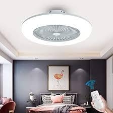 oukaning deckenventilator mit beleuchtung moderne lüfter schlafzimmer le deckenleuchte 3 farbtemperatur dimmbar mit fernbedienung deckenle weiß