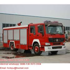 Howo Heavy Rescue Trucks Sale Water Tank Fire Truck For Sale Rc Fire ...