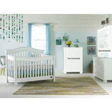 Bonavita Dresser Changing Table by Bonavita Kinsley 2 Piece Nursery Set In Classic White Crib And