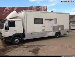 100 Rally Truck For Sale MAN 75 Ton Motorhome Trailers Transporters For Sale At Raced