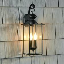 modern exterior wall sconces 2 light outdoor wall lantern