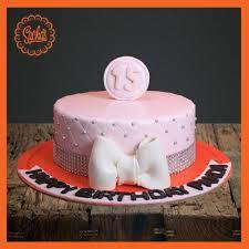 15th Birthday Fondant Cake