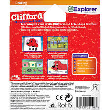 Clifford Halloween Book by Leapfrog Learning Game Scholastic Clifford For Leappad Tablets