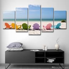 großhandel hd gedruckt abstrakte bilder wohnzimmer wandkunst 5 stücke lounge chair für ölgemälde poster wohnkultur poster print art canvas