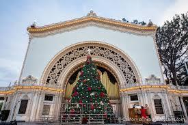 Boy Scout Christmas Tree Recycling San Diego by Balboa Park December Nights Christmas At The Prado California