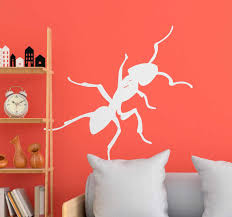 ameisen zeichnung insekten wandaufkleber