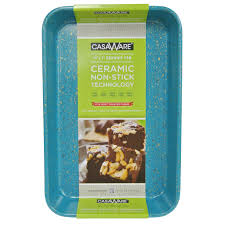 CasaWare Toaster Oven Baking Pan 7 X 11 Inch Ceramic Coated Non Stick