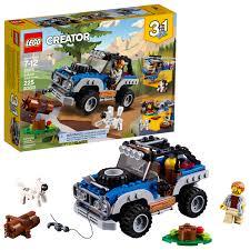 100 Big Truck Adventures 3 LEGO Creator In1 Outback 1075 225 Pieces Walmartcom
