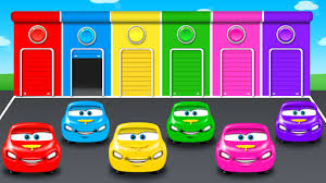 Colors For Children To Learn With Color Car Toy
