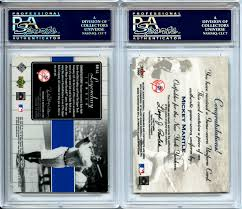 The Upper Deck Company Llc Linkedin by Lot Detail Lot Of 2 Psa Graded Relic Cards 2000 Upper Deck