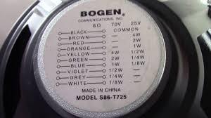 bogen 70 volt ceiling speakers 28 images see our sound 1 866