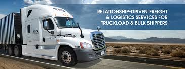 TSD Logistics - Bulk Freight Transport - Trucking Company