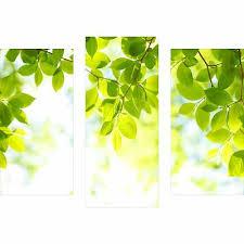 glasbilder decorwelt dreiteiliges wandbild 3 teilig