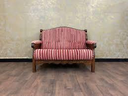 details zu voglauer anno 1900 2 sitzer wohnzimmer sofa landhaus stil antik massivholz