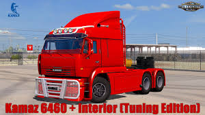 KamAZ 6460 + Interior (Tuning Edition) V1.0 (1.29.x) » American ... Maz Kamaz Gaz Trucks Farming Simulator 2015 15 Ls Mods Kamaz 5460 Tractor Truck 2010 3d Model Hum3d Kamaz Tandem Ets 2 Youtube 4326 43118 6350 65221 V10 Truck Mod Ets2 Mod Kamaz65228 8x8 V1 Spintires Mudrunner Azerbaijan Army 6x6 Truck Pictured In Gobustan Photography 5410 For Euro 6460 6522 121 Mods Simulator Autobagi Concrete Mixer Trucks Man Tgx Custom By Interior Modailt Gasfueled Successfully Completes All Seven Stages Of