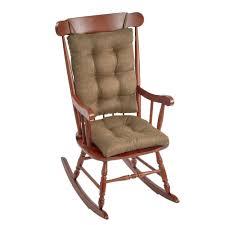 Gripper Omega Gold Jumbo Rocking Chair Cushion Set