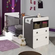 lit bebe evolutif avec tiroir blanc taupe 70x140 jeantaum01e