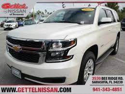 Used Chevrolet Tahoe for Sale in Bradenton FL