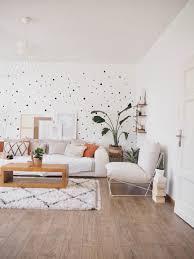 wohnzimmer wandgestaltung wanddekoration stringr