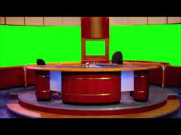 GreenScreen News Station