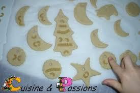 pate a sel décoration de noël en pâte à sel pour le sapin cuisine et passions