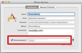 Recover a Lost Encrypted Backup Password for an iPhone iPad