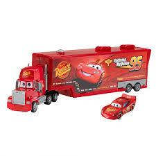 CARS 2 Model Truck MACK Carry Case CAR With LIGHTNING McQUEEN Model ...