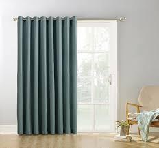 Sound Reducing Curtains Amazon by Amazon Com Sun Zero Easton Blackout Patio Door Curtain Panel 100