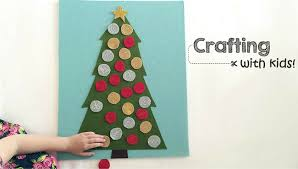 Crafting With Kids Felt Christmas Tree Play Board